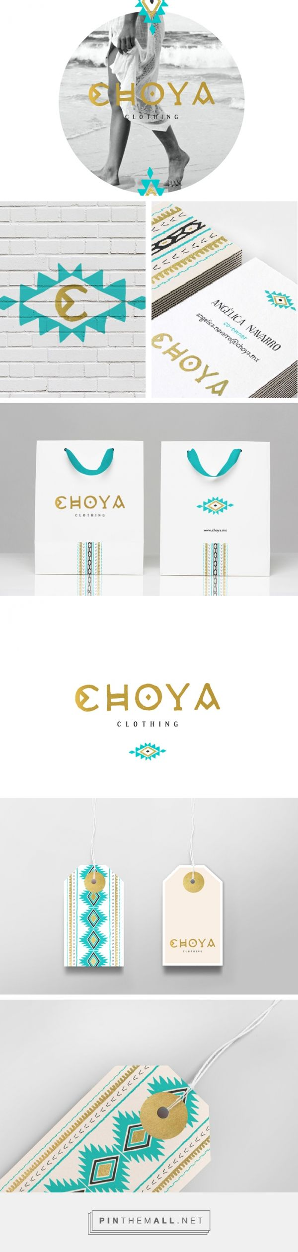 Choya Clothing Branding on Behance | Fivestar Branding – Design and Branding Agency & Inspiration Gallery