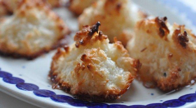 Verdens bedste kokosmakroner af æggehvider