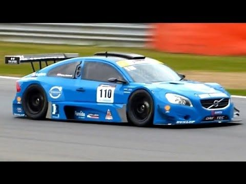 Volvo S60 V8 Racecar - Onboard, Fly-by and Sounds! - YouTube