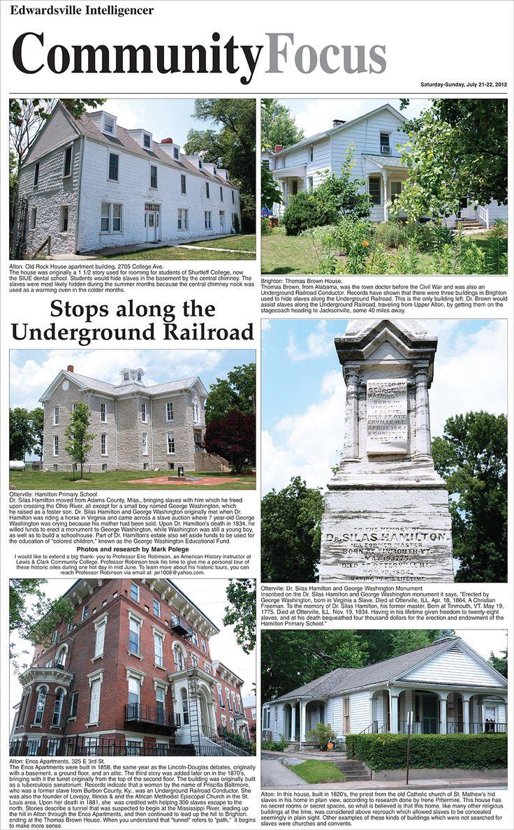 Southern Illinois Underground Railroad · Slavery Museumharriet Tubmanunderground