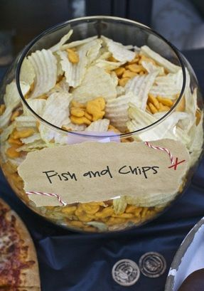 """Fish & Chips"" for a Pirate Party"