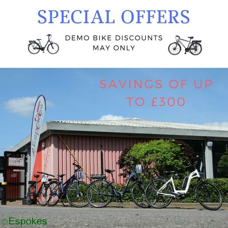 What better way to spend a bank holiday than cycling around the beautiful countryside, and we have just the bikes for the jobs. Hills are no longer a struggle, #ebikes put the enjoyment into cycling. If you want to get yourself a real bargain, come and test ride our EBC Electric Bikes Corporation range. We have some amazing deals we can do for you, offers until May 31st 2017 only