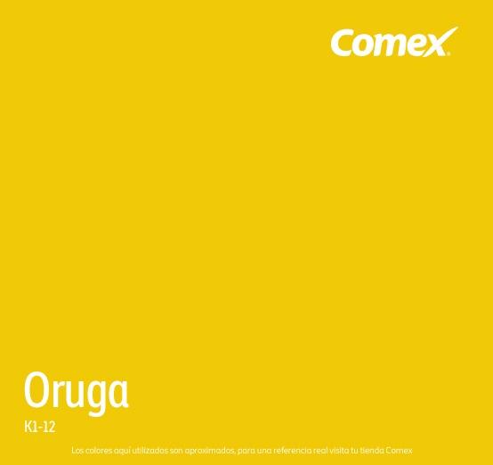 Oruga Comex Colorlife Color Amarillo Pinterest Colors
