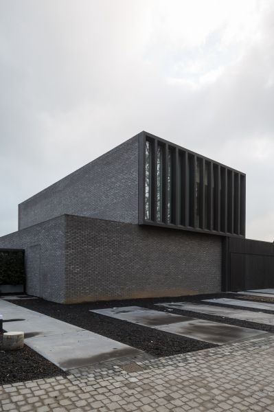 Single family house Erembodegem - Projects - pascal francois - architects