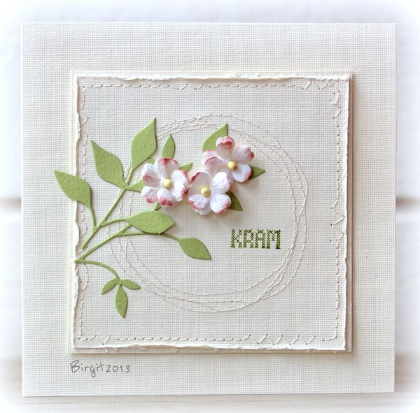 CAS221 TLC430 Apple Blossom by Biggan - Cards and Paper Crafts at Splitcoaststampers