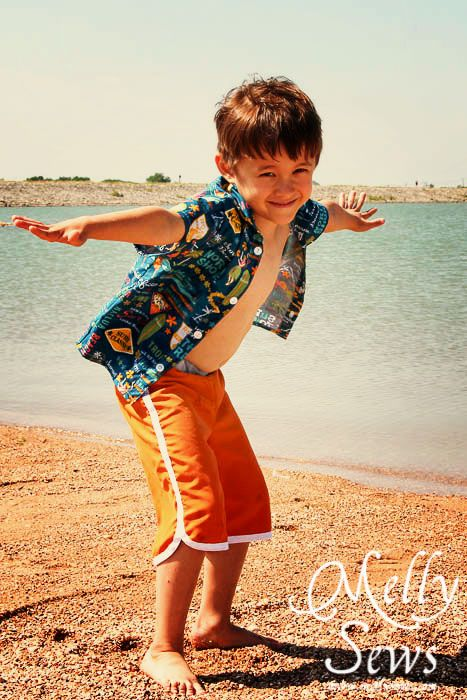 Vintage Surf Style for Vintage May // Melly Sews