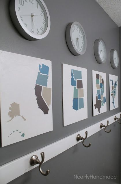 Bathroom Wall Clocks: Best 25+ Time Zone Clocks Ideas On Pinterest