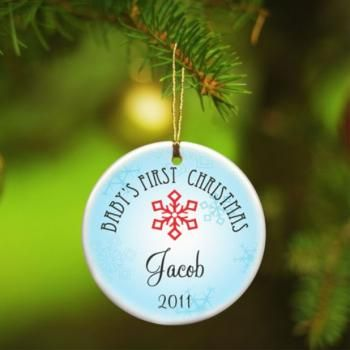 10 best personalized baby gifts images on pinterest alphabet babys first christmas baby boy celebrate the first christmas of that precious bundle of negle Image collections