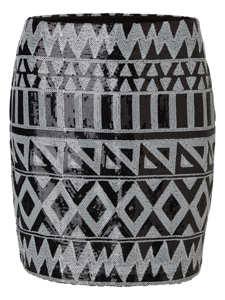Sequined mini skirt from VERO MODA. Wear this with a black or white top for an amazing party look.