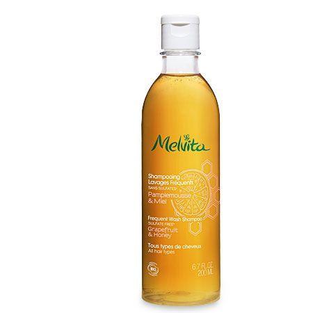 Shampooing Lavages Fréquents bio Melvita sans sulfates