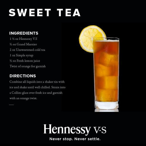 Hennessy drink. Possible signature cocktail? Could be appropriate?