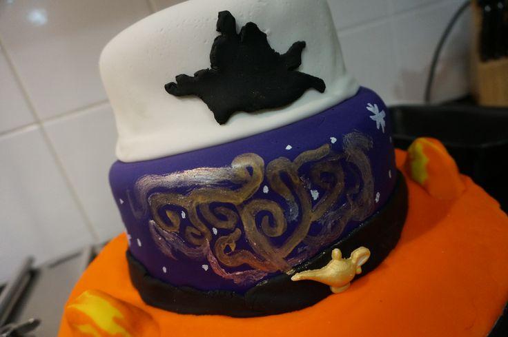 A Whole New World Aladdin cake. Made by Mary Paradissis.