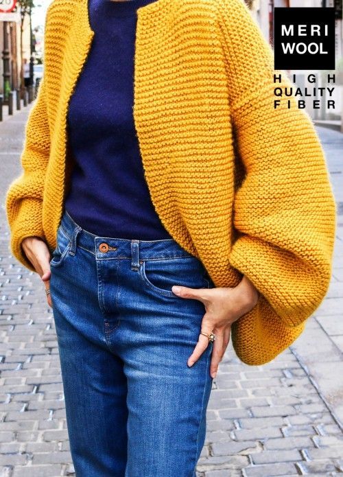 Chord Cardigan | We Are Knitters