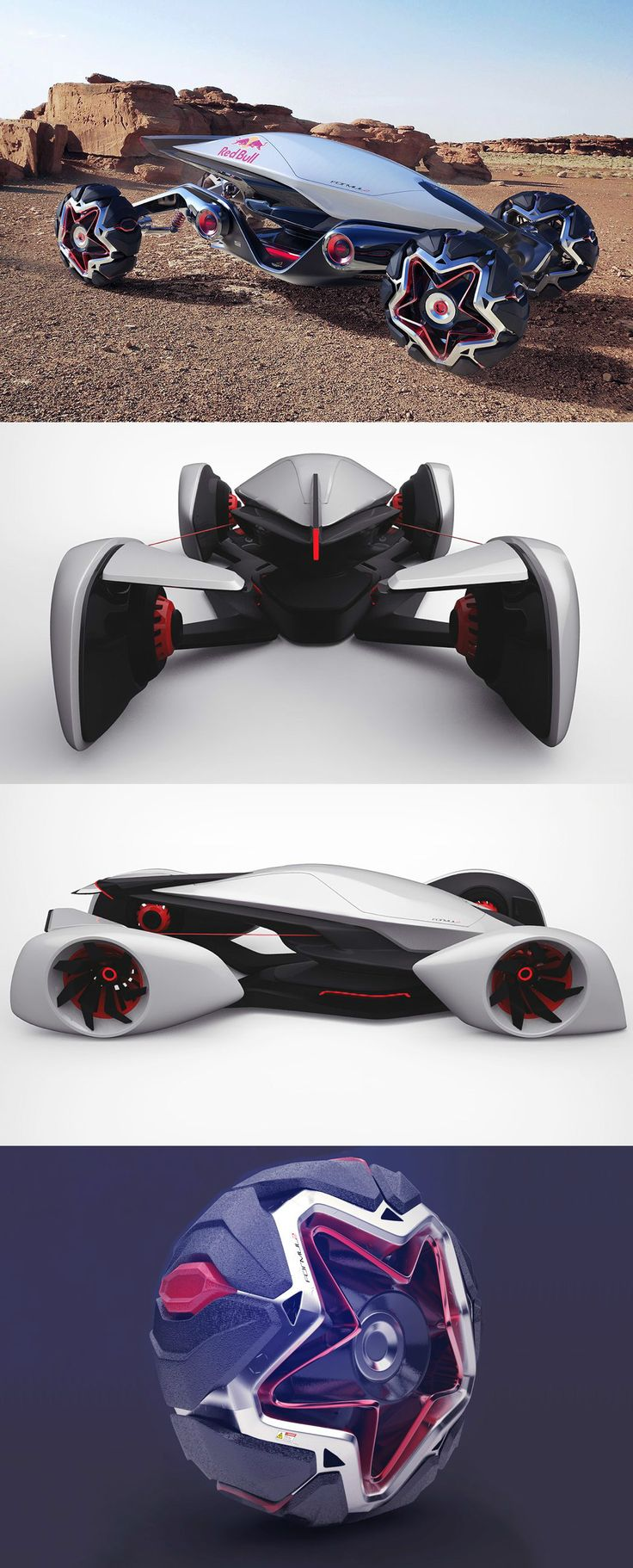 Designer Radek Štěpán has conceptualized not only an innovative roadster, but an entirely new style of racing which he calls FORMUL2… and it makes F1 seem like a total snoozefest | Read Full Story at Yanko Design