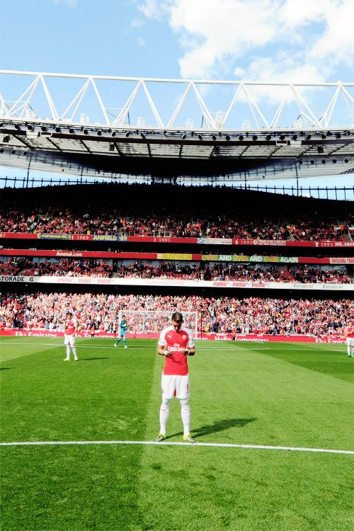 You're never too good for Arsenal