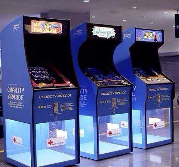 Shared by gameart247 #arcade #microhobbit (o) http://ift.tt/1Ov3uSc I was to ever own my own business I would totally have this. Games that are hard af too for maximum output  #gaming #gamer #gamerlife  #cabinet #donate #oldschool