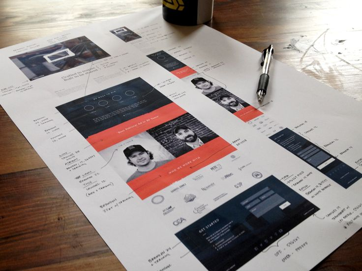 In much the same way as we found wireframe sketching brand identities incredibly inspirational, web UI style guides have the same effect.