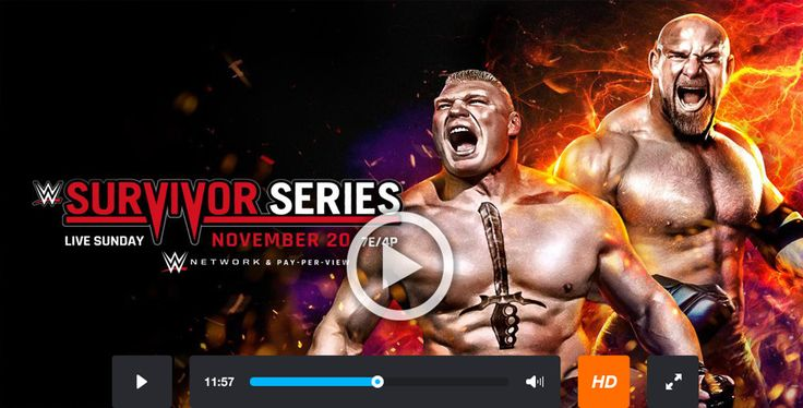 WWE Survivor Series 2016 Live Streaming