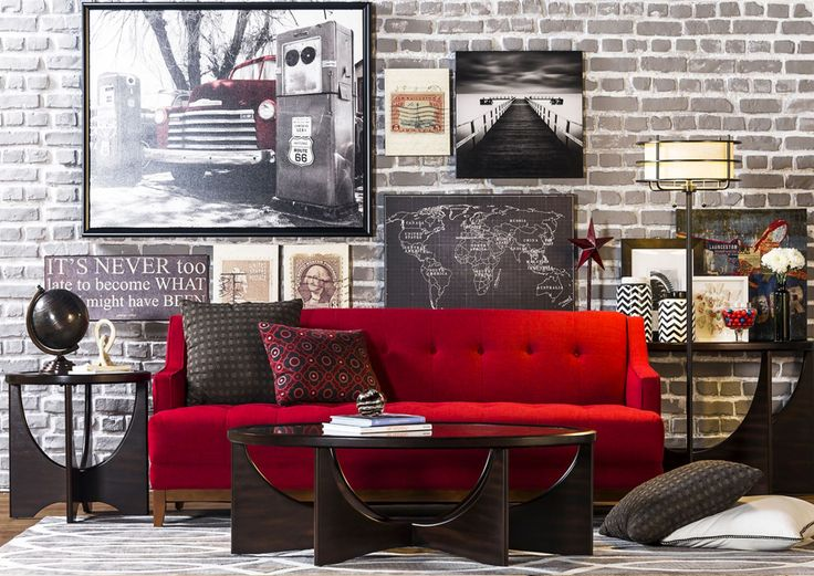 Best 25+ Red Sofa Ideas On Pinterest | Red Sofa Decor, Red Couches And Red  Couch Rooms Part 50