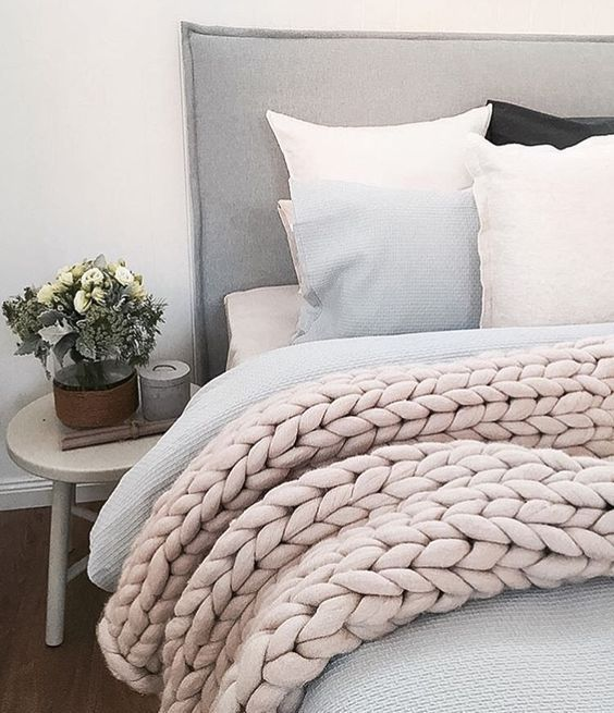 Should try making this blanket....