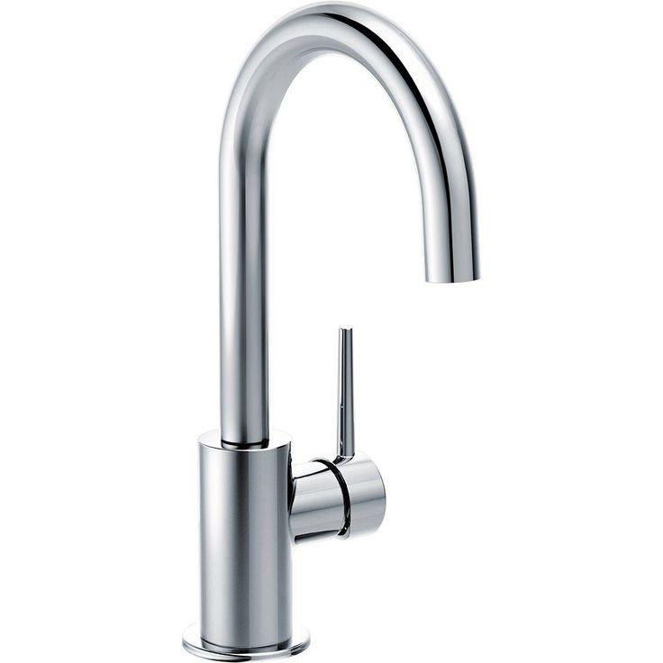 Delta Contemporary Single-Handle Bar Faucet in