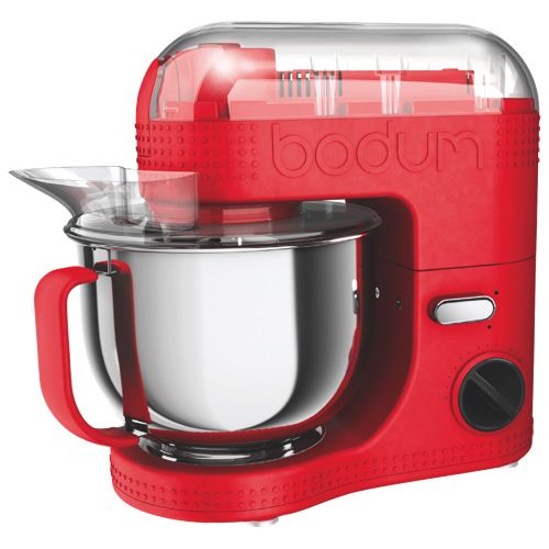 Spoil Mom (and yourself) with a Bodum Bistro 7-Speed 700-Watts Stand Mixer (11381-294US).
