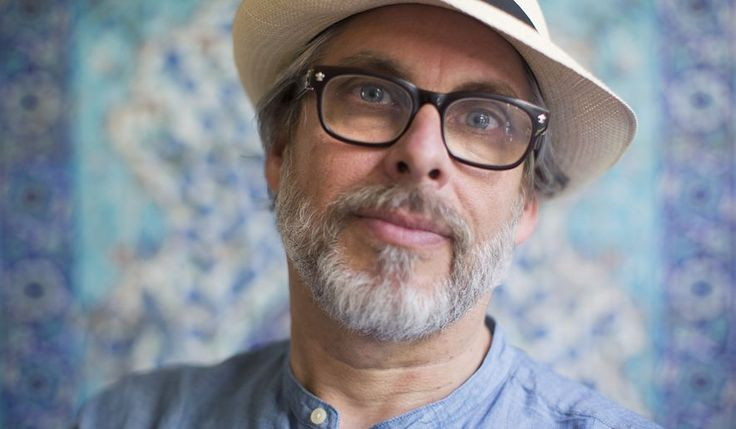 "In this June 18, 2017 photo, author Michael Chabon, poses for a photo at the launch of a new book of essays titled ""Kingdom of Olive and Ash"" that describes the Israeli occupation of the West Bank, now in its 50th year, In Jerusalem. (AP Photo/Oded Balilty)"