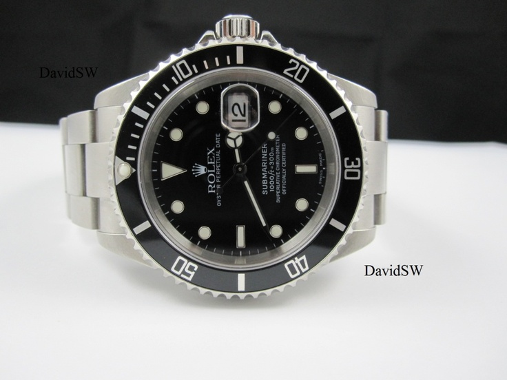 FS: Rolex 16610 STAINLESS STEEL SUBMARINER- F SERIAL $4775... I have this watch and love it :-)