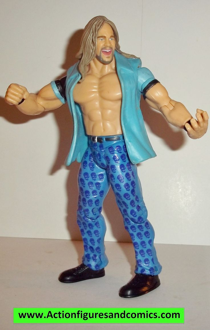 Wrestling WWE action figures CHRIS JERICHO ruthless aggression series 7 jakks