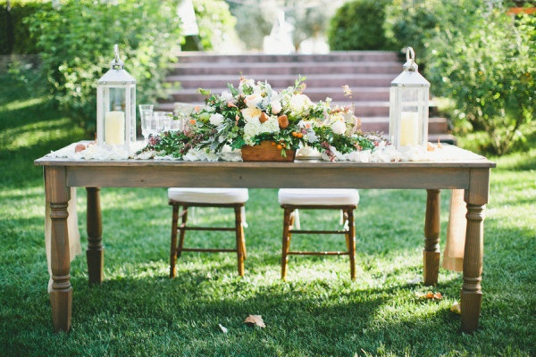sweetheart table // onelove photography