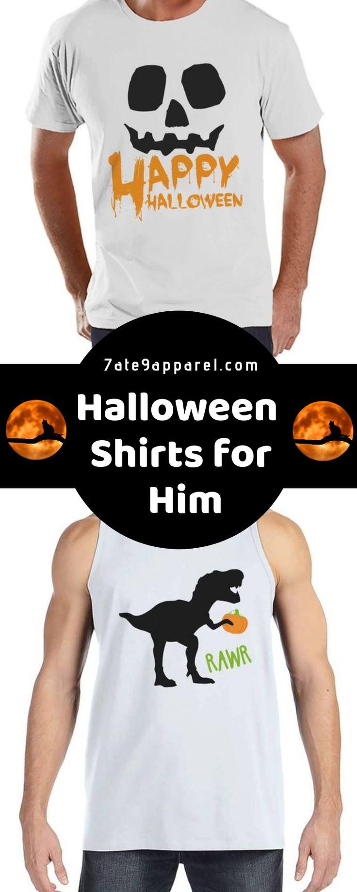 Halloween Shirts for Him