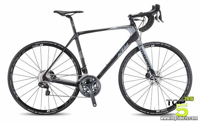 TOP 5 BICICLETAS DE CARRETERA: KTM REVELATOR SKY DI2 BLACK, gran bici para los au...