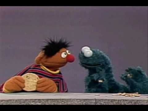 Sesame Street - Cookie Choosing.... teaching fairness and other character building