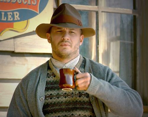 If anyone can make Forrest Bondurant a complex and compelling character – it's Tom Hardy.