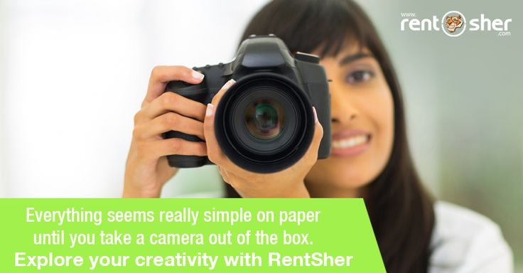 Everything seems really simple on paper until you take a #Camera out of the box. Explore your creativity through RentSher by hiring our wide range of Camera's on like #DSLR Camera, #SLR Camera, CyberShot Camera, #Lenses, #Camcorders, Videorecorders and more at affordable price with Home delivery and pickup across #Bangalore and #Delhi. Visit us for more details. Bangalore: http://bit.ly/2hPVBwH Delhi: http://bit.ly/2iHEJMT.