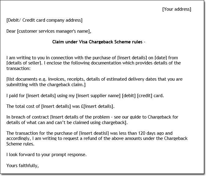 What To Do When Customers Force Refunds Through Their Banks Lettering Letter Templates Credit Card Companies
