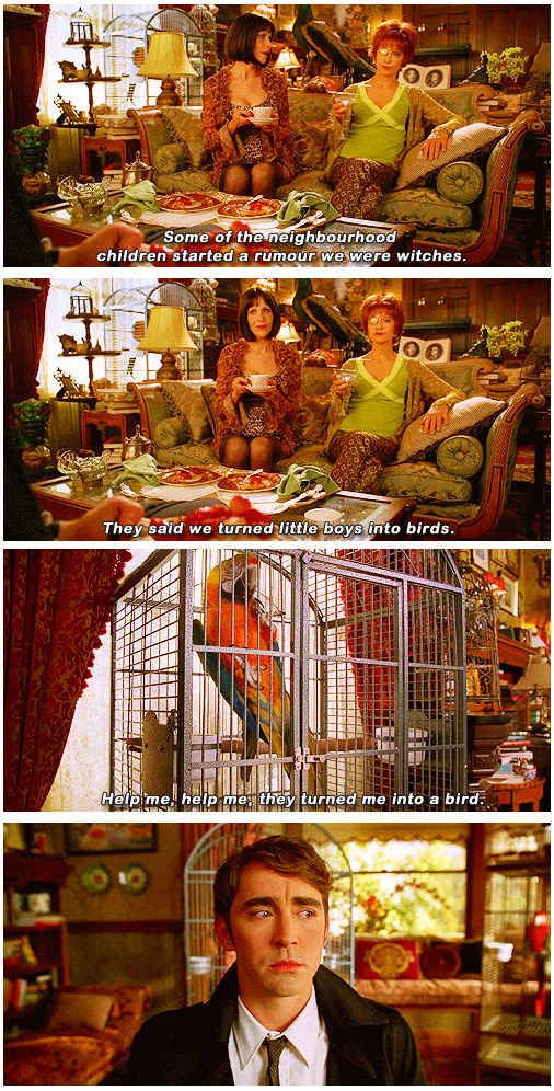 """It was just so weird and so perfect. 