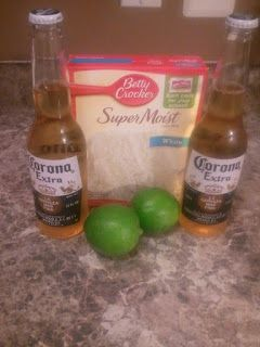 Lovin The Momma Life: Corona Cupcakes with Captain Morgan Lime Frosting