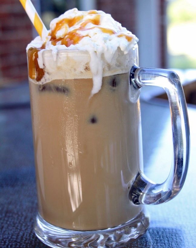 Iced Caramel Latte Recipe~ + 2 more iced coffee recipes