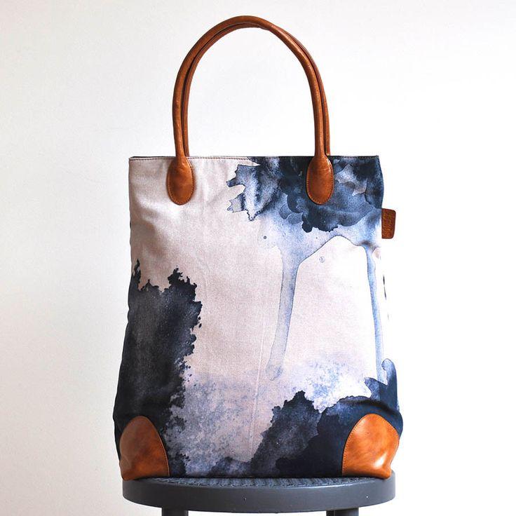 Midnight Ink Bag www.squeakdesign.com