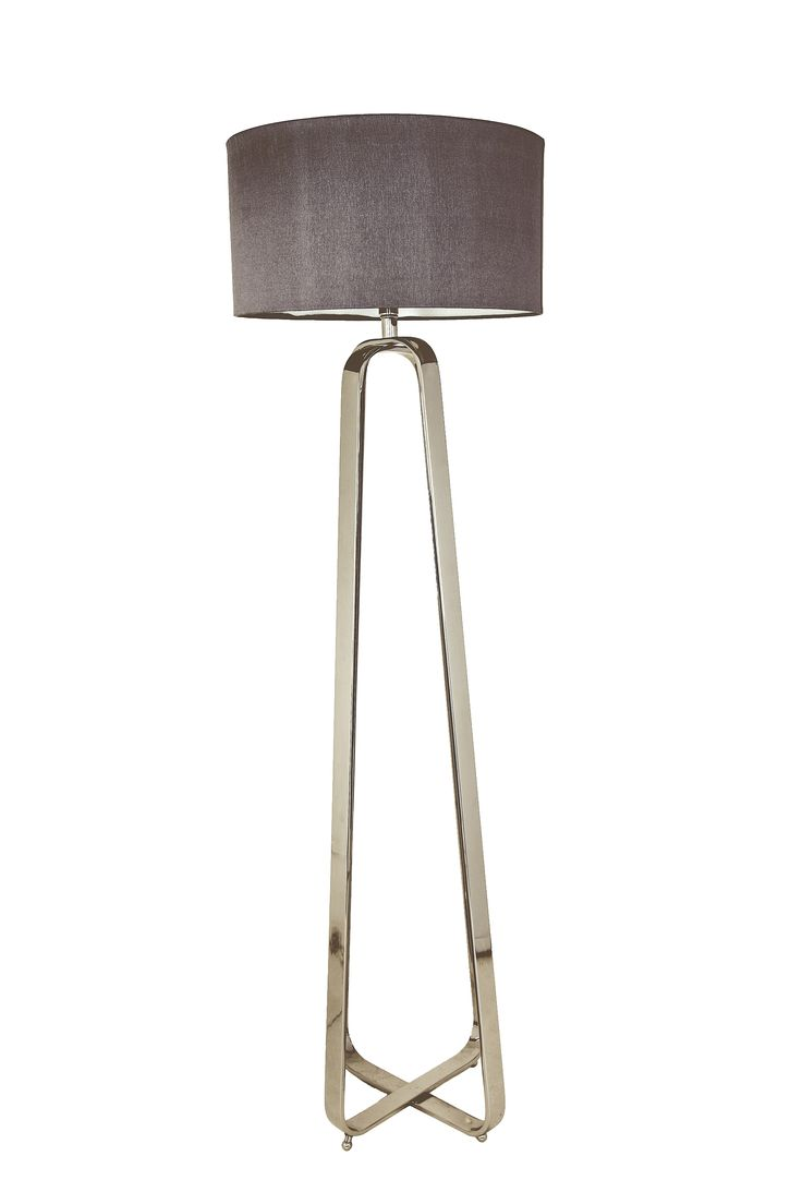 Fontana Tall Standing Lamp With Shade