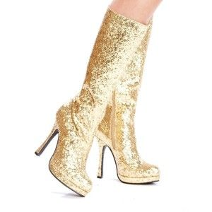 1000  images about Gold Boots on Pinterest | Glitter, Studded ...