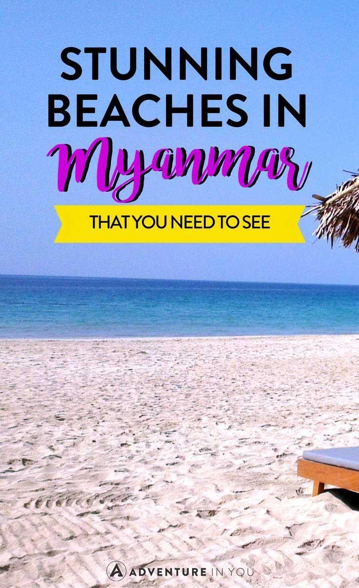 Best Beaches In Myanmar That You Need To See Asienreisen Reise Inspiration Asien Reisen