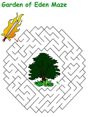 Bible Story Mazes For Kids Various Levels Of Difficulty
