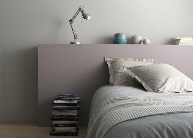 stunning palette de couleur une tonalit un style with couleur peinture gris mauve. Black Bedroom Furniture Sets. Home Design Ideas