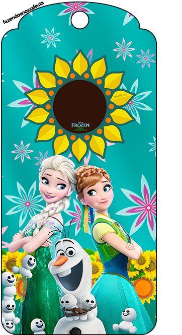 Frozen Fiebre Congelada: Imprimibles Gratis para Fiestas.