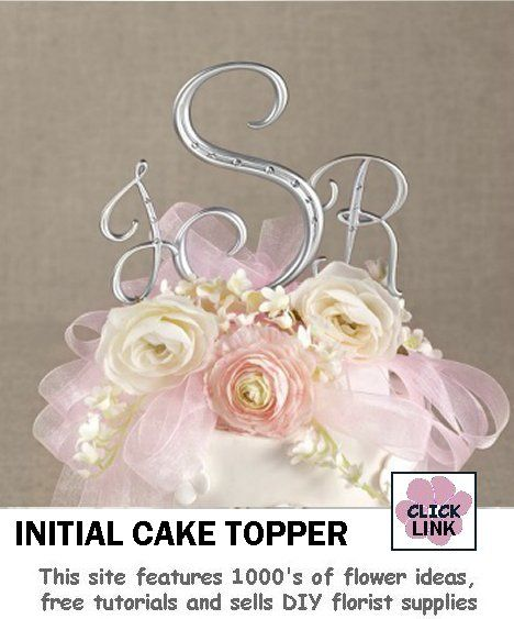 wedding cake topper monogram initials 1000 images about monogram initial cake topper on 26358