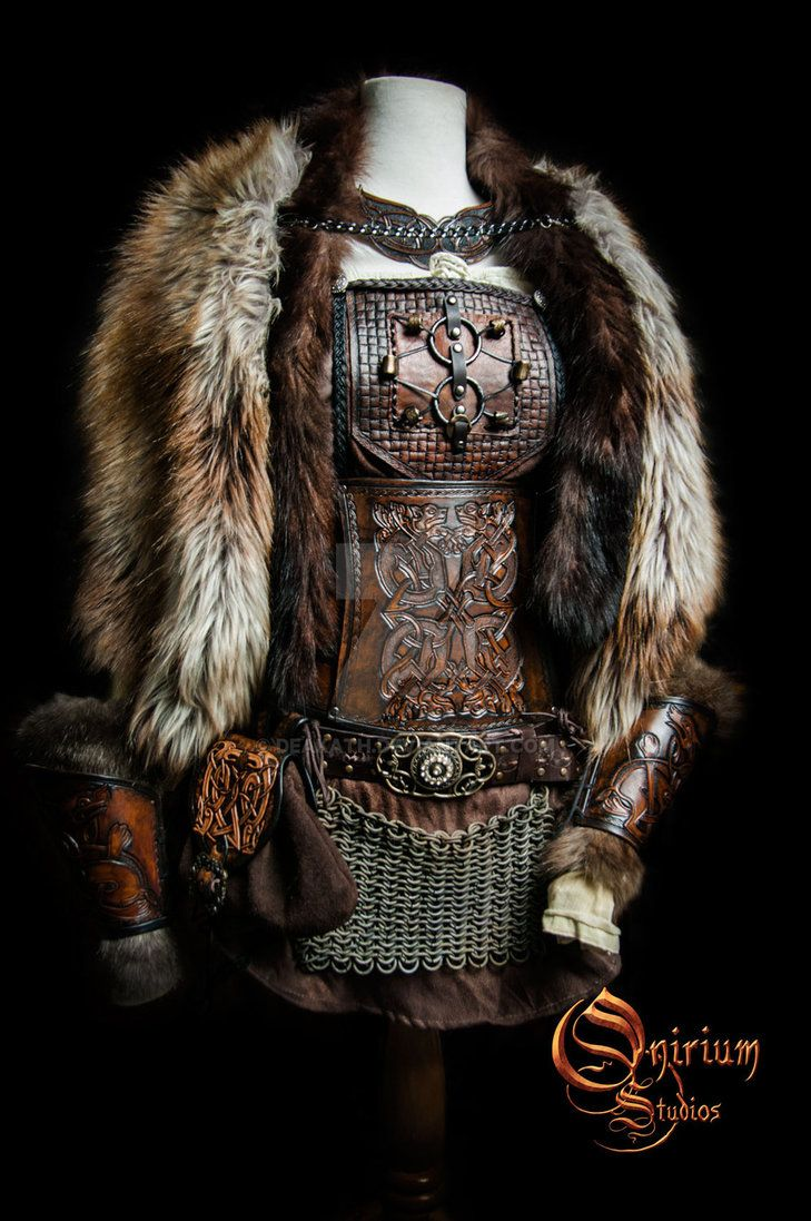 Viking inspired female set by Deakath.deviantart.com on @DeviantArt