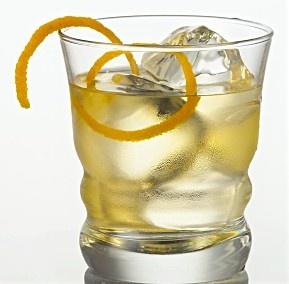 '55 T-Bird: Ketel One, Couintrou, Aperol, orange juice