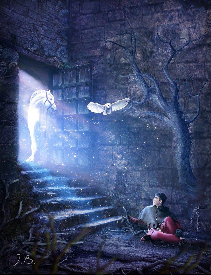 Создаём в фотошопе коллаж Таинственная дверь